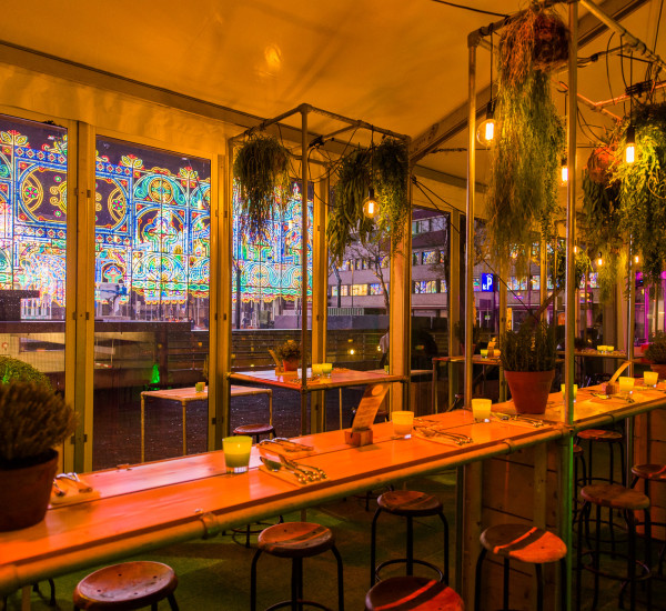 Pop-up Bar Restaurant LUCE
